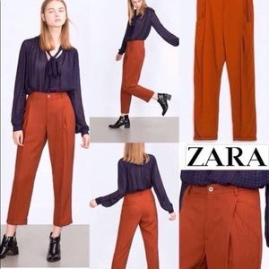 Brand New Zara trousers side pockets size small